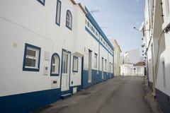 葡萄牙阿尔加威SALEMA老镇 库存照片