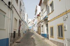 葡萄牙阿尔加威SALEMA老镇 库存图片