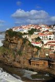 葡萄牙,辛特拉, Azenhas毁损村庄 免版税库存图片