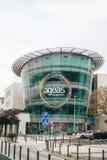 葡萄牙,里斯本2018年4月30日:维护或总店的Ageas Seguros中心 库存图片
