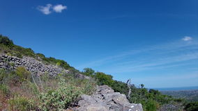 葡萄牙,阿尔加威著名目的地区域农村山坡风景 股票视频