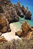 葡萄牙:阿尔加威海滩 库存照片