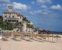 葡萄牙 卡斯卡伊斯-城市和海口位于离里斯本不远 免版税库存照片