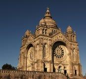 葡萄牙 圣诞老人Luzia教会离vi不太远的 免版税图库摄影