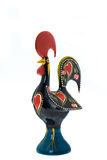 葡萄牙-巴塞卢斯雄鸡的国家标志 图库摄影