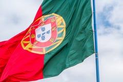 葡萄牙-旗子 免版税图库摄影