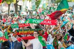 葡萄牙- UEFA -欧洲2016年 库存图片