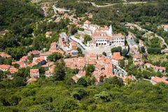 葡萄牙sintra 库存图片