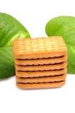 葡萄糖饼干 免版税库存照片