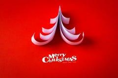 葡萄酒与真实的纸的圣诞节明信片 图库摄影