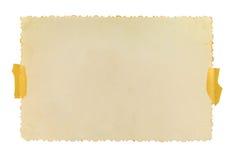 葡萄酒与计算的边缘的照片框架 免版税库存图片