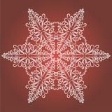 葡萄酒与隔绝的圣诞节背景 免版税图库摄影