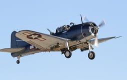 葡萄酒二战航空器 免版税库存图片