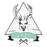 葡萄酒亲爱的商标 T恤杉的设计 库存照片