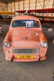 葡萄酒以色列人做了Sussita汽车被显示在以色列空军队博物馆 免版税库存图片