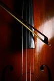 葡萄酒低音提琴 免版税图库摄影