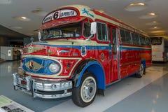 葡萄酒公共汽车奔驰车LO 1112 Omnibus, 1969年 免版税库存图片