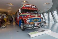 葡萄酒公共汽车奔驰车LO 1112 Omnibus, 1969年 图库摄影