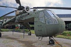 葡萄酒军事直升机 图库摄影