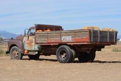 葡萄酒农厂卡车 库存图片
