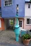 葡萄酒加油站在Portmeirion北部威尔士 库存图片