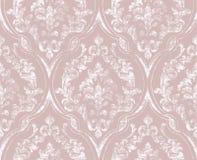 葡萄酒华丽被装饰的样式传染媒介 维多利亚女王时代的皇家纹理 装饰设计花 淡色装饰 皇族释放例证