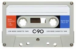 葡萄酒卡型盒式录音机混合磁带 库存照片
