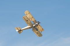 葡萄酒双翼飞机 库存照片