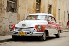 葡萄酒古巴人汽车 免版税库存图片