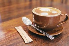 葡萄酒咖啡杯 免版税图库摄影