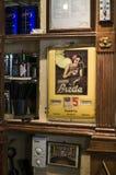 葡萄酒咖啡馆-威岑扎,意大利, 2014年10月20日- Piazzetta Palladio,威岑扎,意大利 免版税库存照片