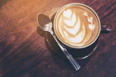 葡萄酒咖啡 库存图片