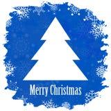 葡萄酒圣诞快乐和新年快乐 免版税库存照片