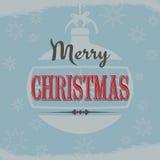 葡萄酒圣诞节设计 图库摄影