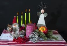 葡萄酒圣诞节 免版税图库摄影
