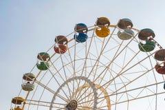 葡萄酒在天空的弗累斯大转轮 免版税图库摄影