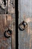 葡萄酒在安地瓜的门把手 免版税库存图片