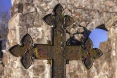 葡萄酒坟墓标志 库存照片