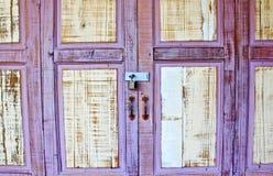 葡萄酒墙壁木头 免版税库存图片