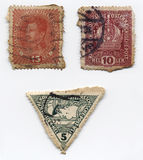 葡萄酒奥地利人邮票 库存照片