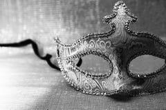 葡萄酒威尼斯式狂欢节面具 图库摄影