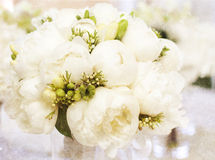 葡萄酒婚礼花束 库存照片