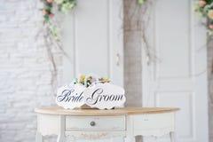 葡萄酒婚礼装饰 库存照片