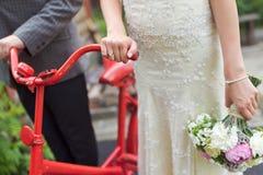 葡萄酒婚礼 免版税库存照片