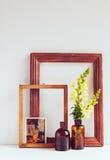葡萄酒家庭装饰 库存图片