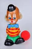 葡萄酒小丑玩具 免版税库存图片