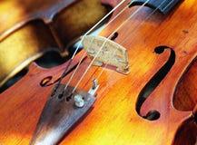 葡萄酒小提琴 免版税库存照片