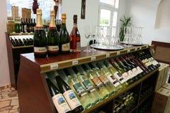 葡萄酒市场 免版税库存图片