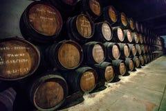葡萄酒库波尔图 库存图片