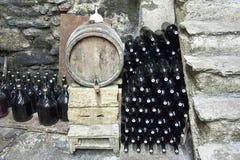 葡萄酒库 库存照片